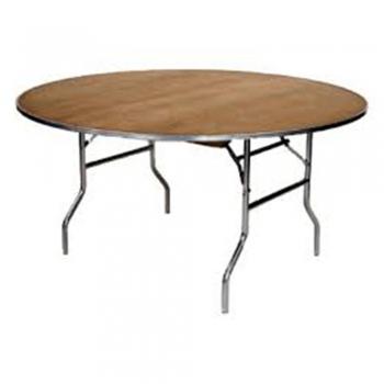 Round Folding Table