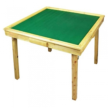 Square Folding card game Table