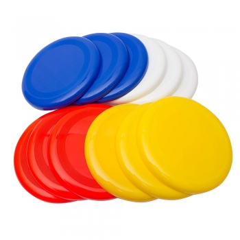 Colored Flying discs
