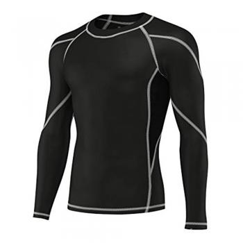 Kayak Rash guard top or moisture-wicking T-shirt or long-sleeve shirts