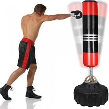 Martial Art Kicking Bag Drills