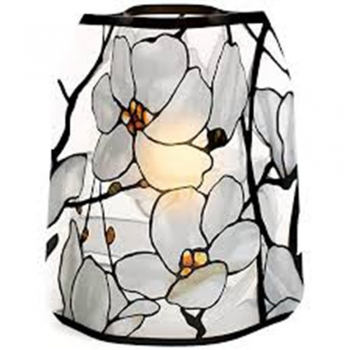 Pressed Flower Luminaries