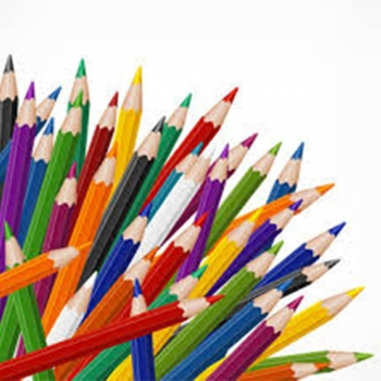 Kids drawing Colored Pencils