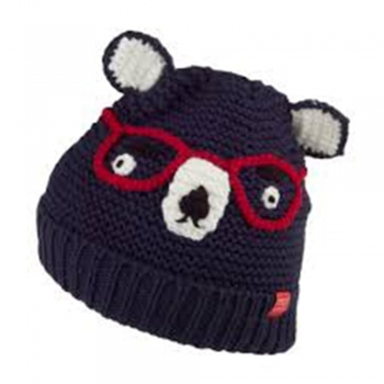Kids knitting Bear Beanie Pattern