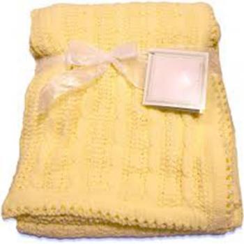 Kids knitting Blanket