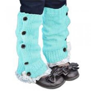 Kids knitting Boot Cuffs