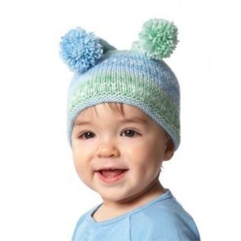 Kids knitting Colored hat