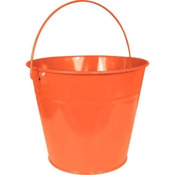 Kids planting Metal Bucket