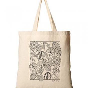 Planting Canvas Tote