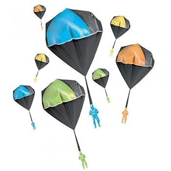 Build a parachute for a light toy experiments