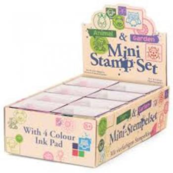 Bar Animal Mini Stamp Sets