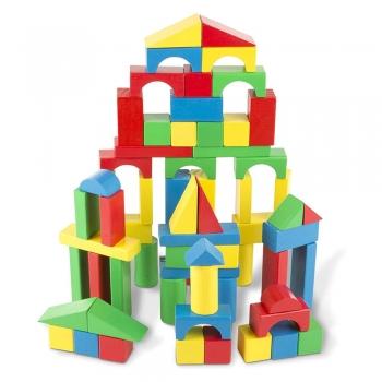 Kid's wood blocks