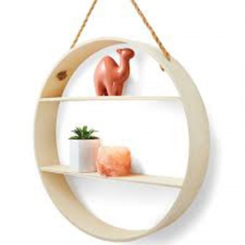 Kid's wood Circular Shelf