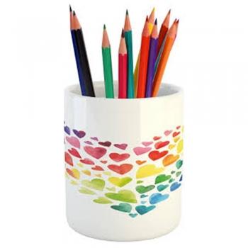 Kid's wood Crayon Holder