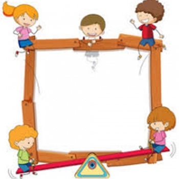 Kid's wood Picture Frame