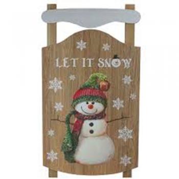 Kid's wood Snowman Fence