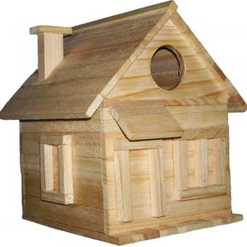 Kid's wood Wooden Bird House