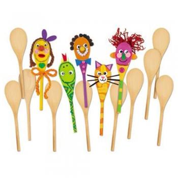Kids Wooden Spoons