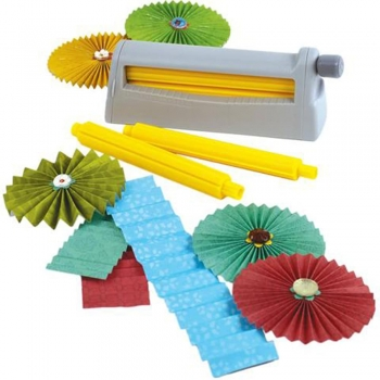 Crimper and Punches Cardstock papers