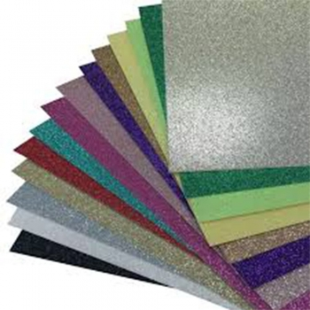 Glitter Cardstock papers