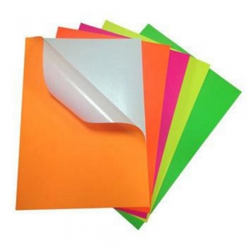 Adhesive or Sticker Colored Papers