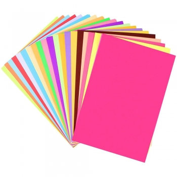 Crafting Colored Papers