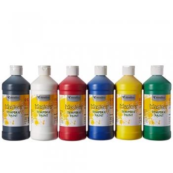 Tempera Painting paints