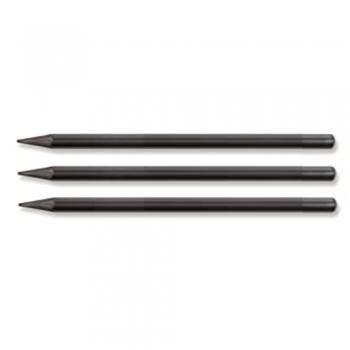Solid graphite pencils