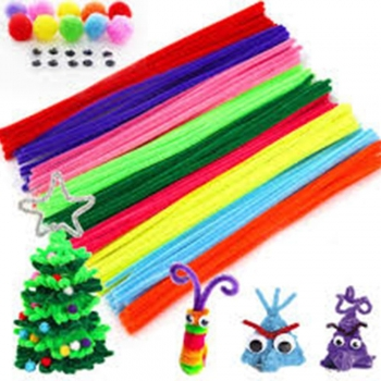 Random Colors Pipe Cleaners