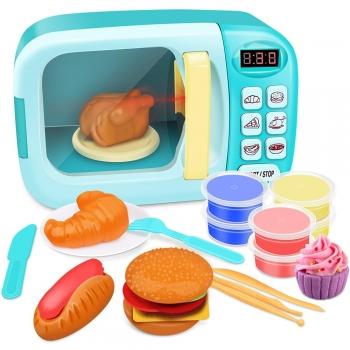 Microwave play doughs