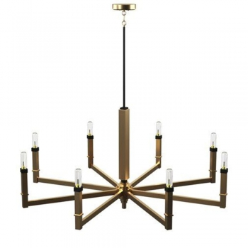 Light Candle Style Classic Chandelier