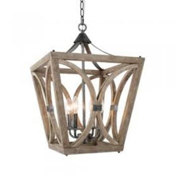 Light Lantern Geometric Chandelier
