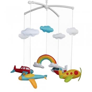 Kids Airplane Crib Mobiles