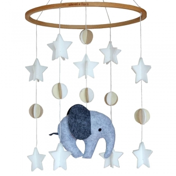 Kids Elephant Crib Mobiles