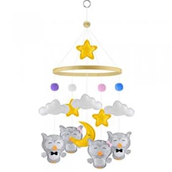 Kids Moon and star Crib Mobiles