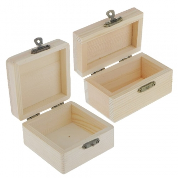 Kids Wooden jewelry boxes