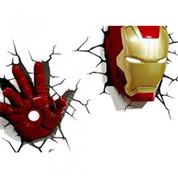 Marvel Superhero kids decor Night Lights