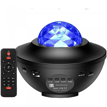 Nightlight with Projector and Music Player