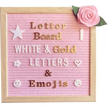 Framed Felt Letter Board
