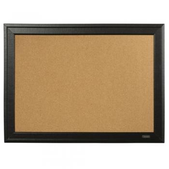 Square Cork Board Black Frame