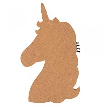 Unicorn Shaped Cork Board