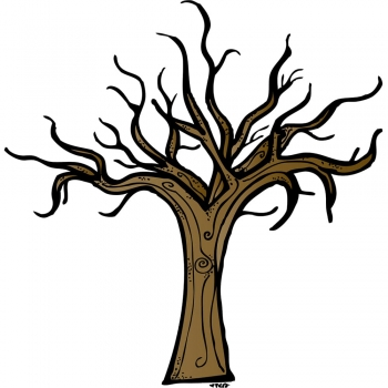 Kid's eerie trees