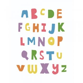 Kid's Alphabetical wall arts