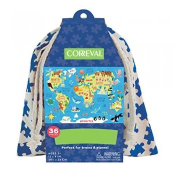 Kid's world maps arts