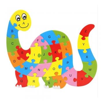 Bright dinosaur letters