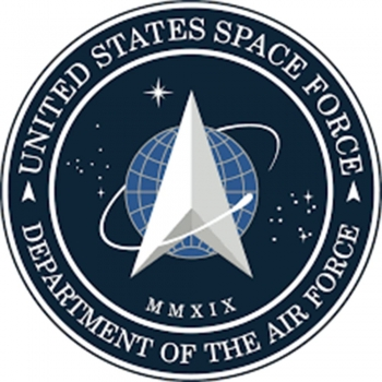 Navy outer space letters