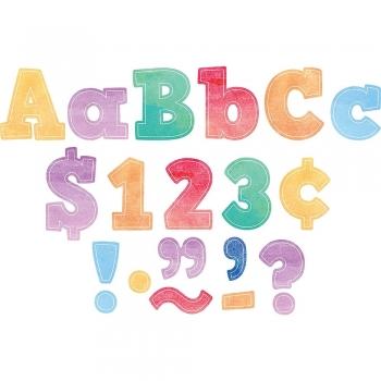 Pastel mix eclectic mixed size   font letters