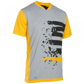 Yellow + grey mix letters