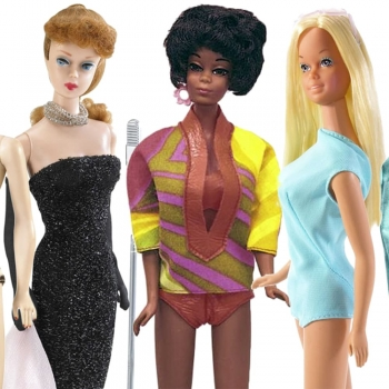 Famous Face of Barbie