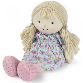 Handmade Fabric or  Rag Doll, Machine Washable